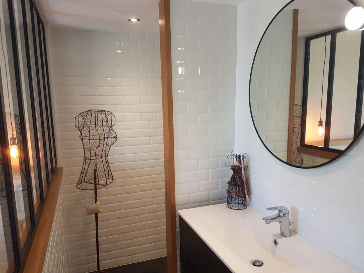 Création d'une suite parentale à Plouhinec - salle de bain