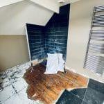 Rénovation intérieure d'une maison à Lederzeele - avant travaux