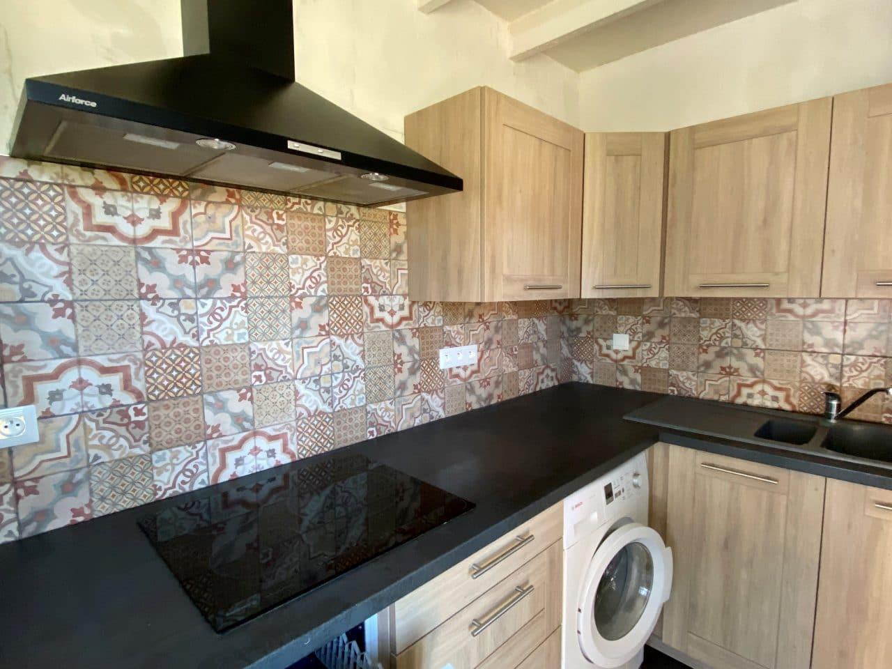 Rénovation intérieure d'une maison à Lederzeele - rénovation cuisine