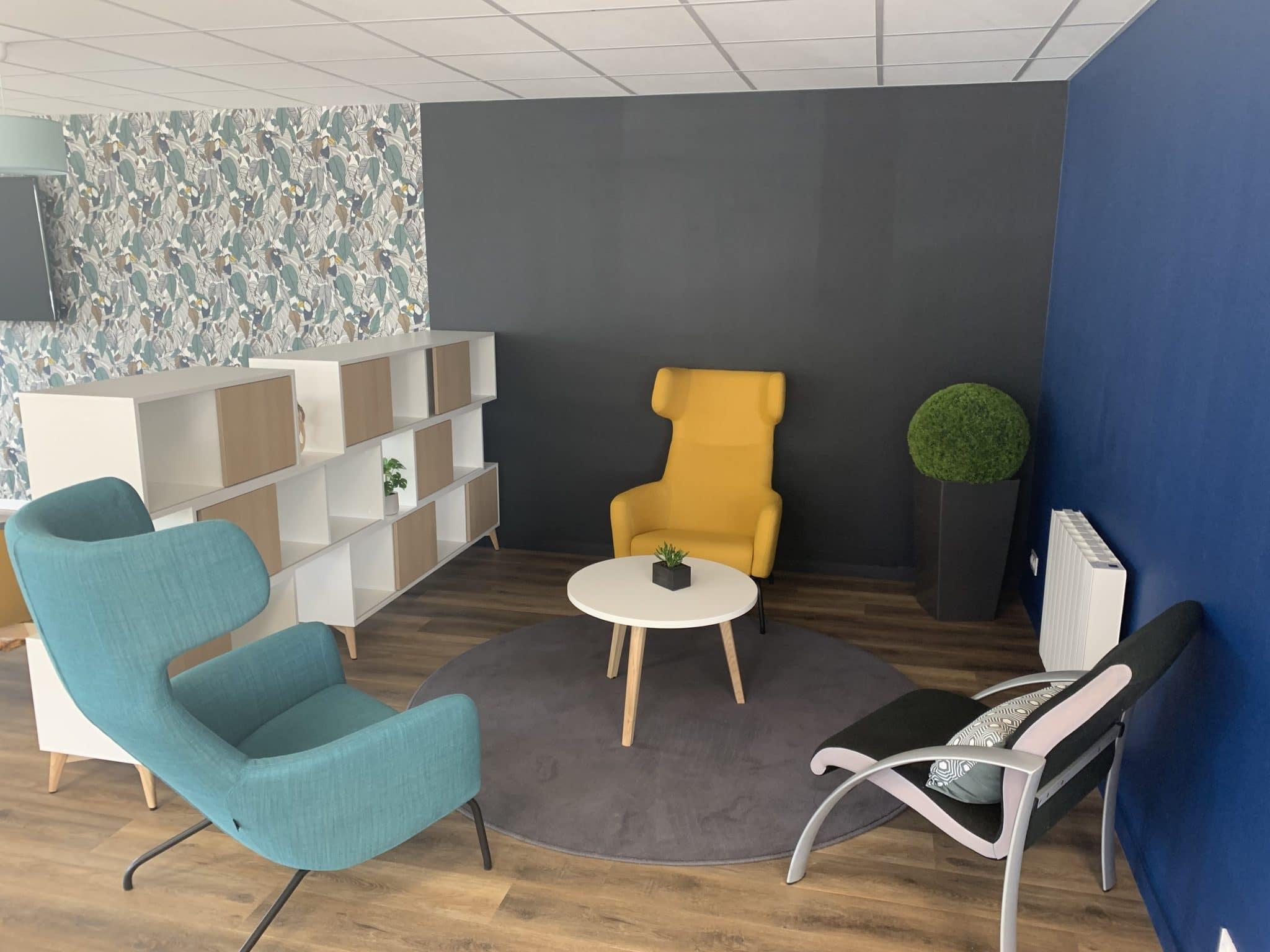 Création d'une salle de pause à Carentoir (56)