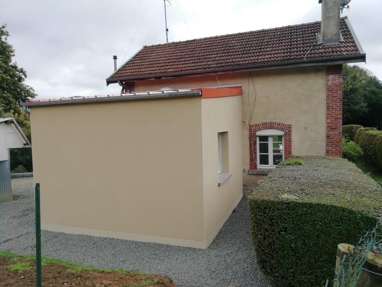 extension de maison à Lécousse par illiCO travaux