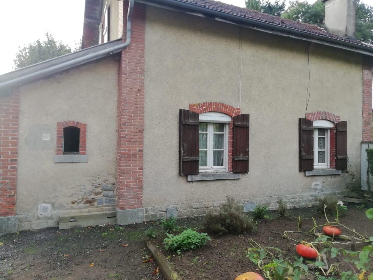 extension de maison à Lécousse - avant extension de maison