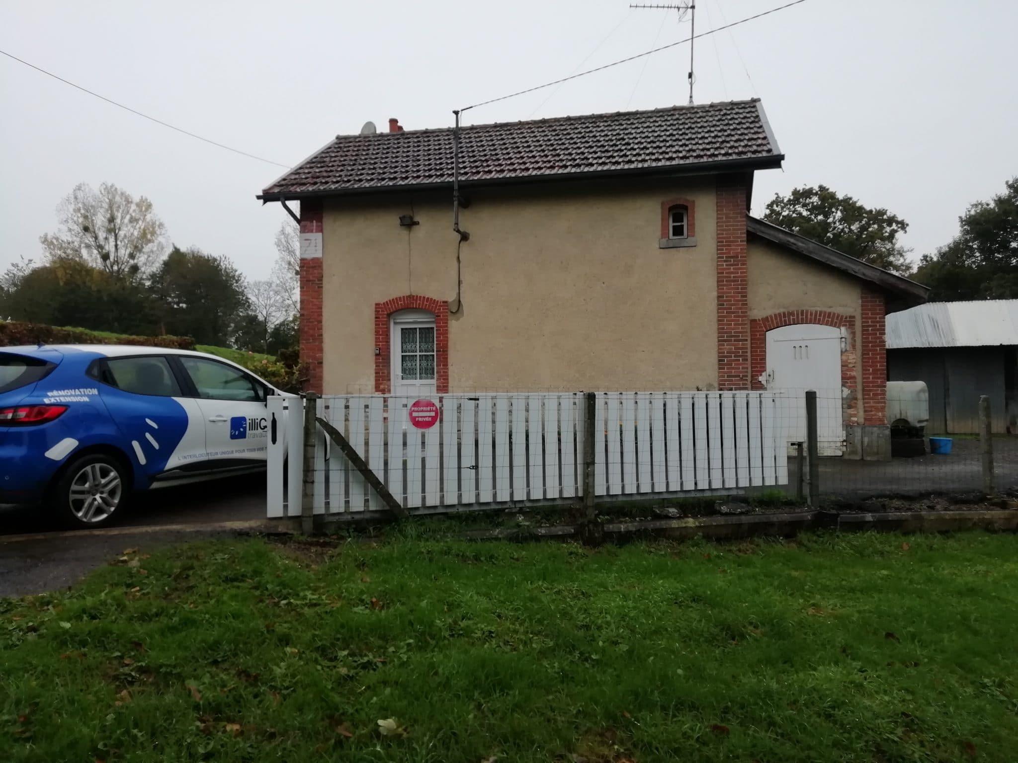 Extension et rénovation de maison à Lécousse (35)