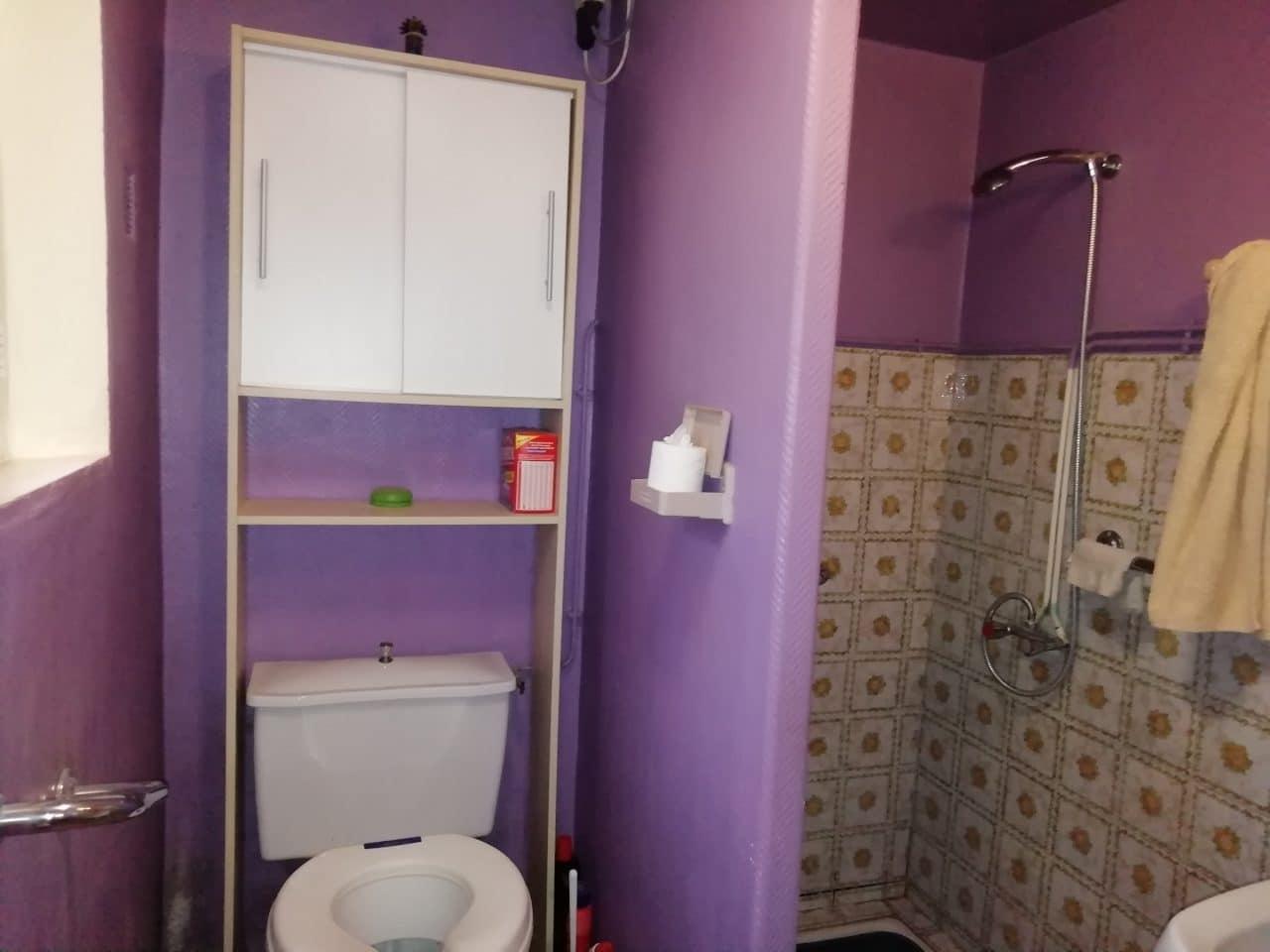 extension de maison à Lécousse - avant travaux de rénovation de salle de bain