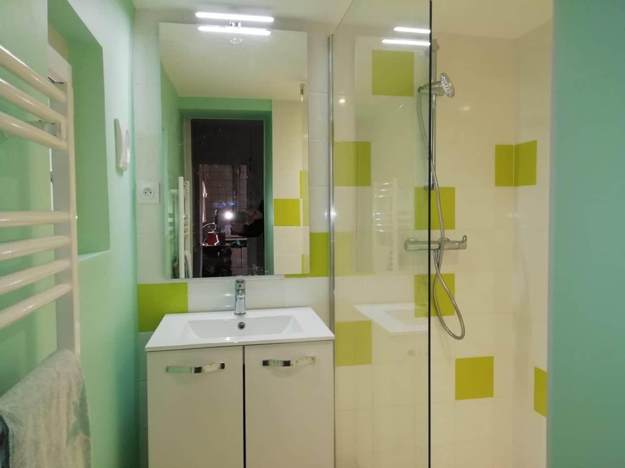 extension de maison à Lécousse - rénovation de salle de bain