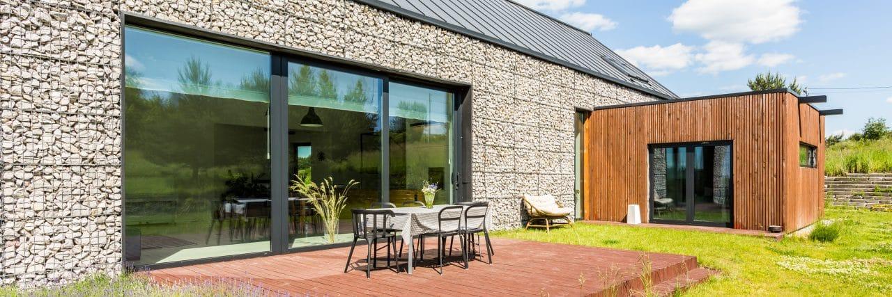 extension maison colmar : extension en bois