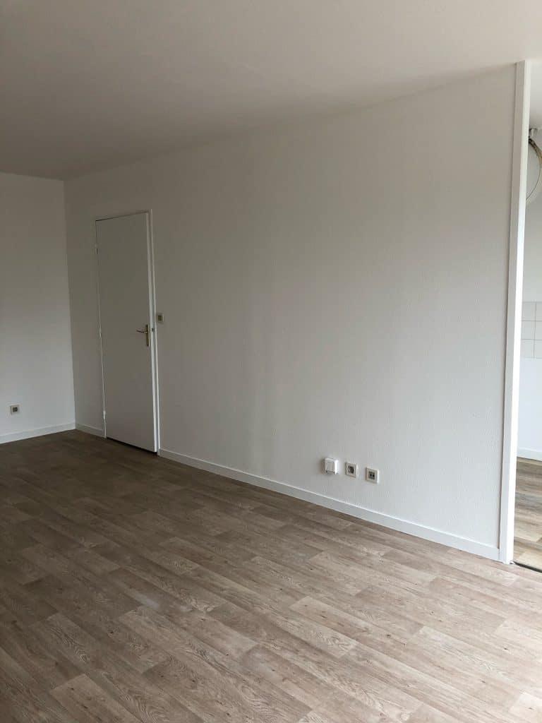 rénovation d'un appartement pour une location Talence - sol et peinture