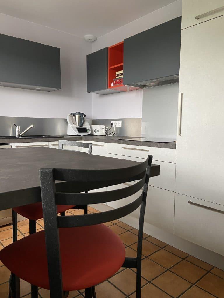 rénovation cuisine Saint Etienne à Terrenoire - meubles de cuisine