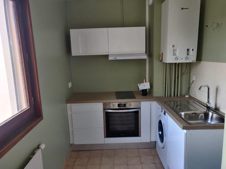 Rénovation d'une cuisine d'un appartement à Saint-Étienne (42)