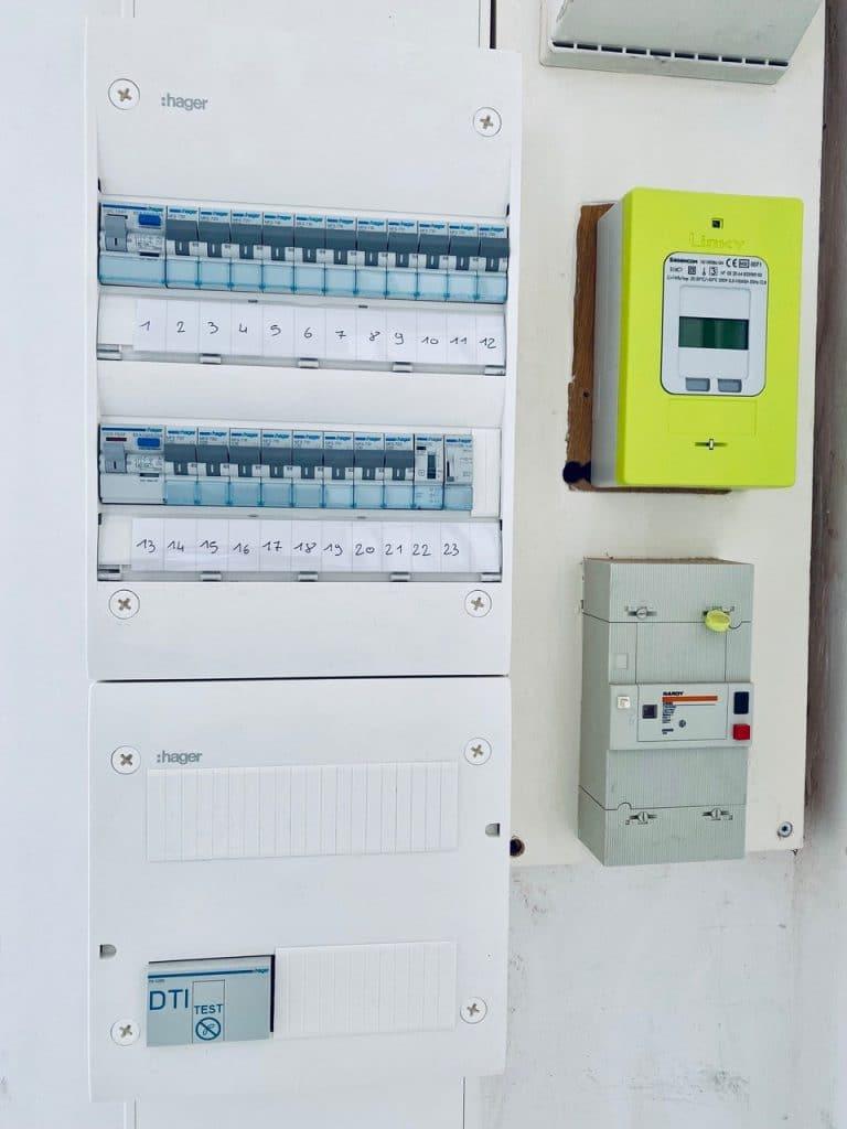 Installation électrique d'une maison à Wizernes (62)