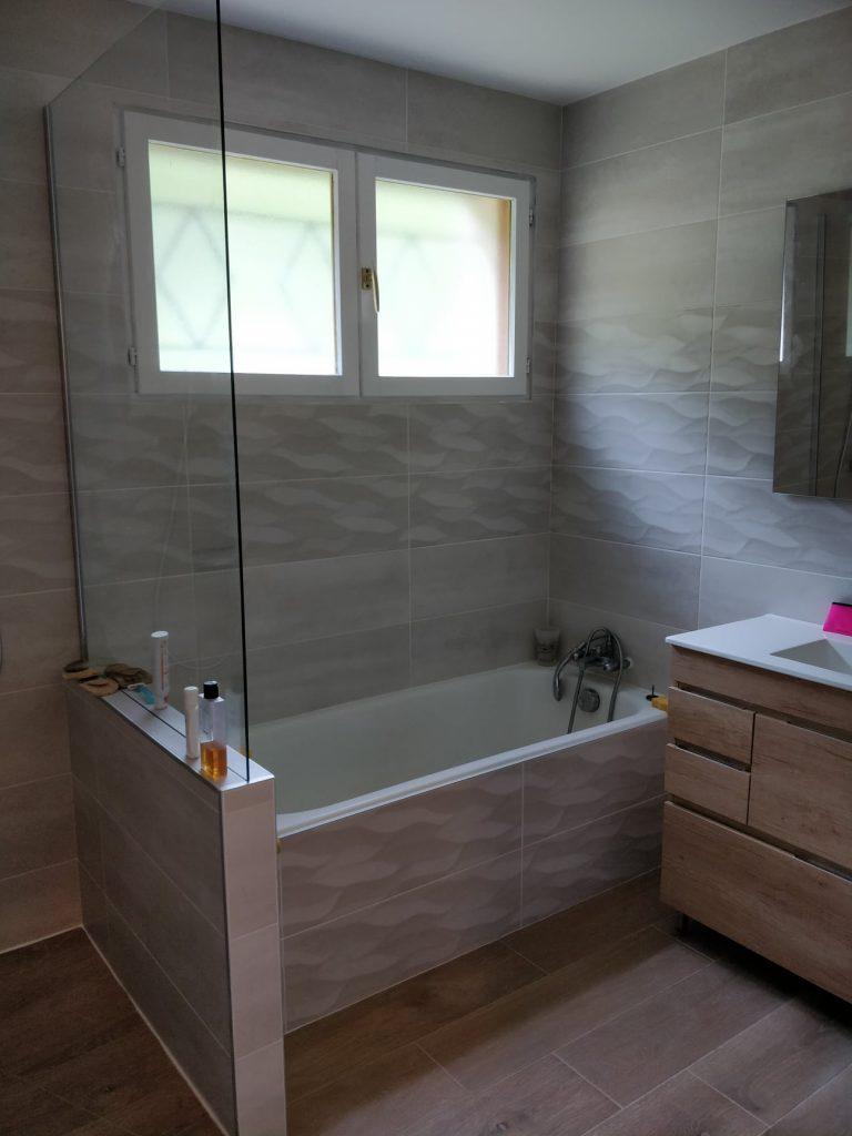 Rénovation de salle de bain à Saint-Étienne-de-Crossey (38)