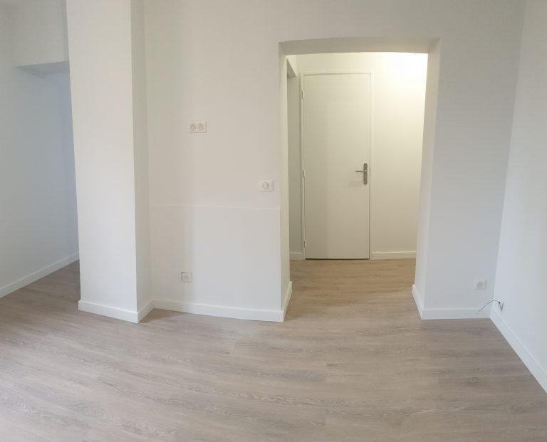 Rénovation d'un studio dans le centre-ville de Toulouse (31)