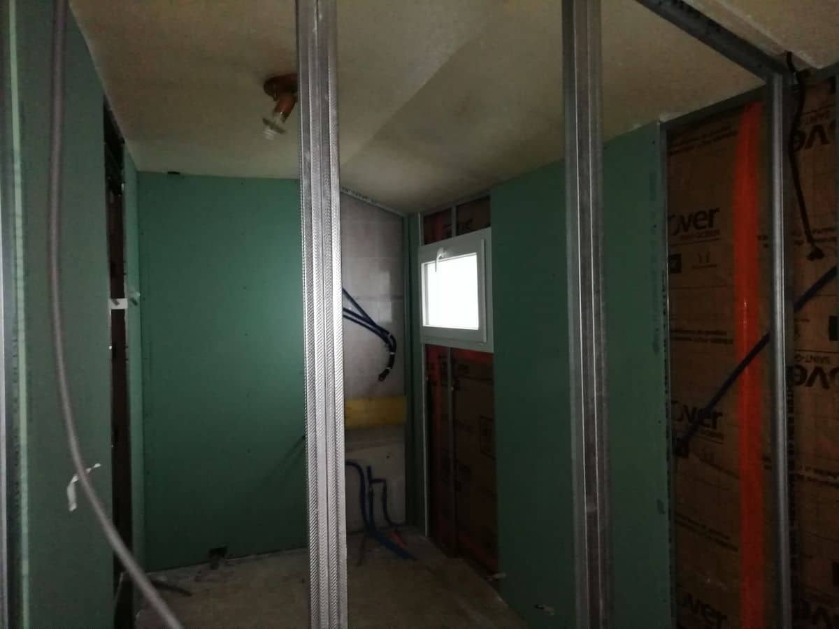 Rénovation d'une maison à Fougères (35)