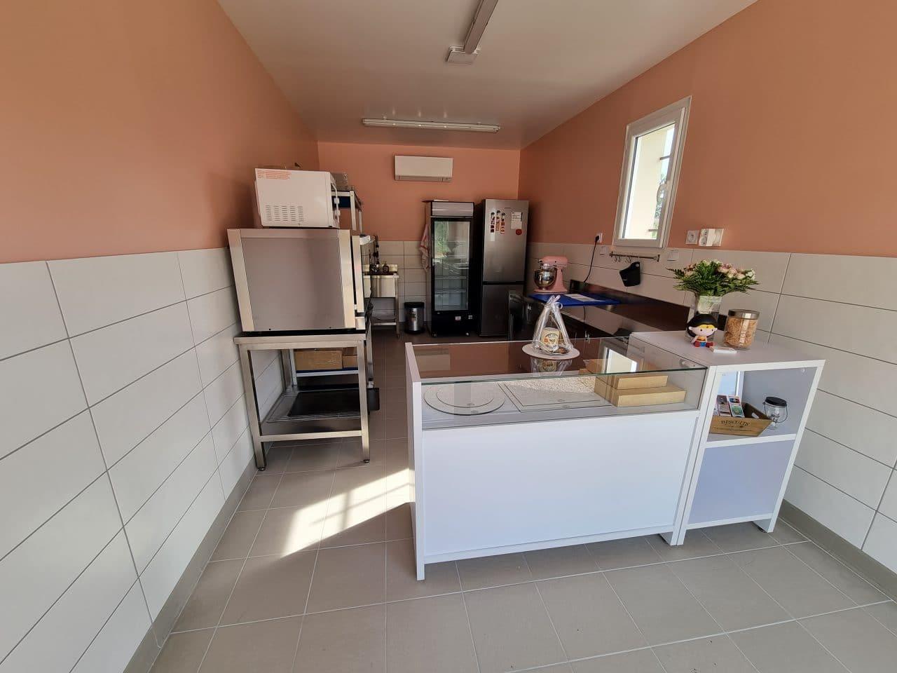 création d'un laboratoire de pâtisserie à Saint-Sulpice-la-Pointe - vue d'ensemble