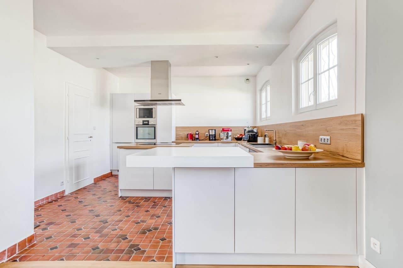 rénovation de cuisine à Holtzheim - ouverture de la cuisine