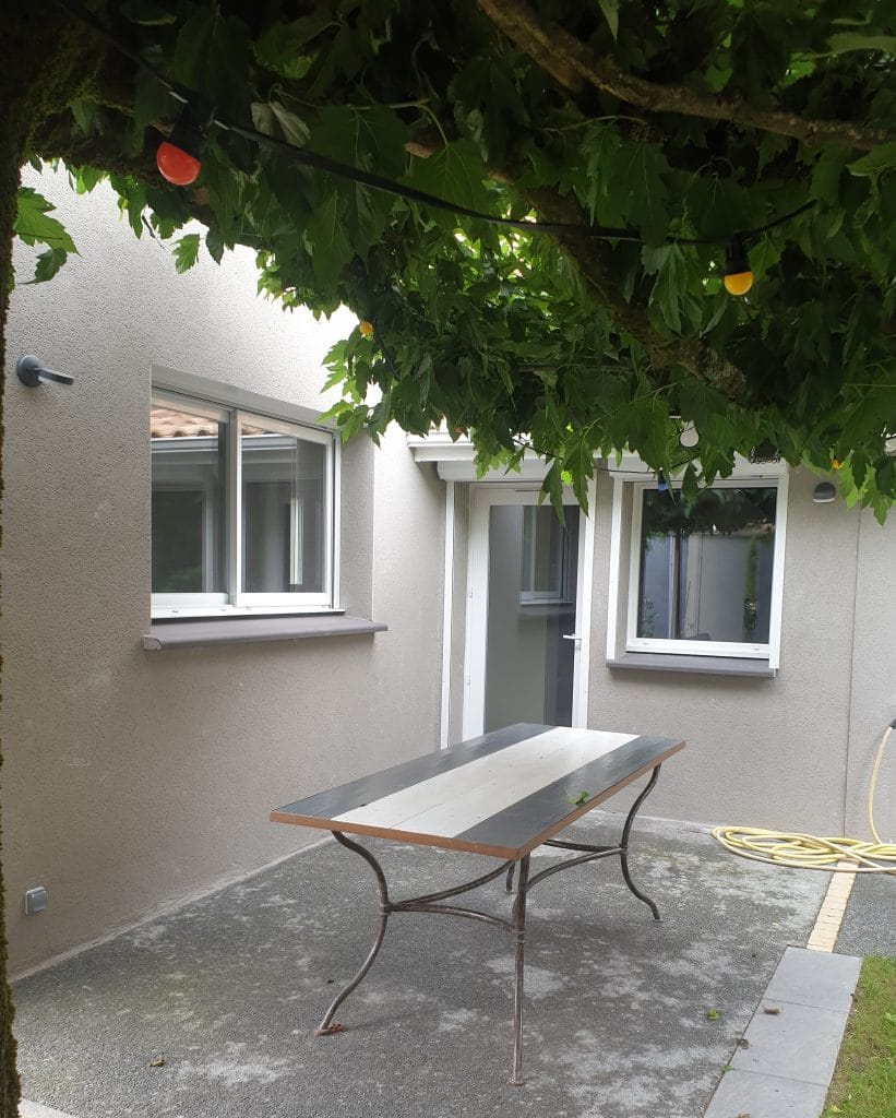 rénovation et extension d'une maison à Escalquens - extension vue extérieure