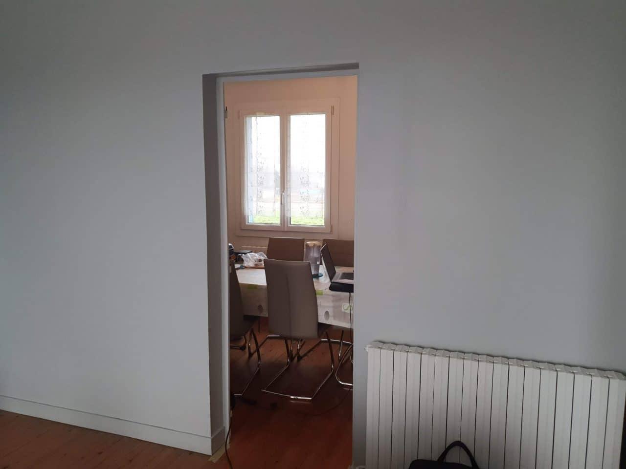 rénovation d'intérieur à Saint-Sulpice-de-Cognac - mur avant travaux