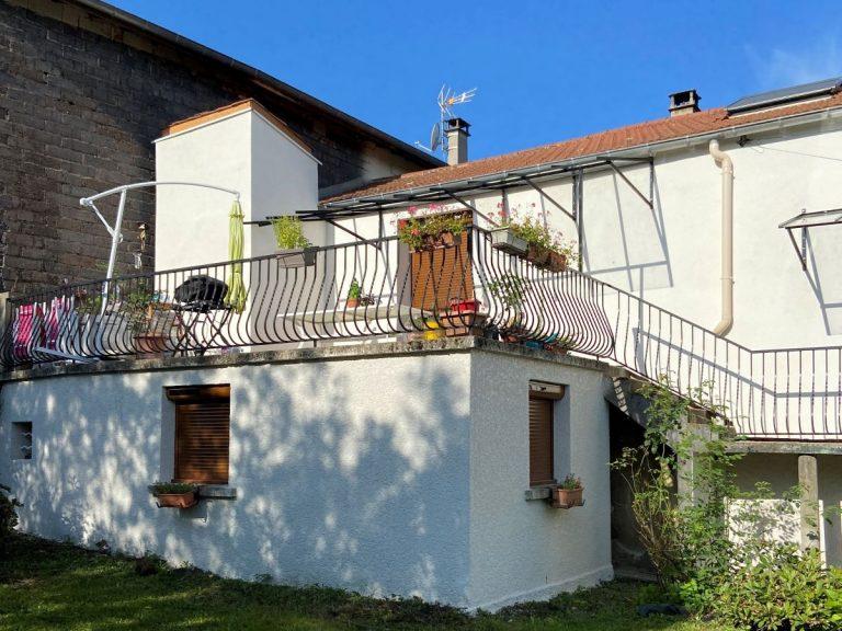 Isolation thermique par l'extérieur sur une maison à Saint Chamond (42)