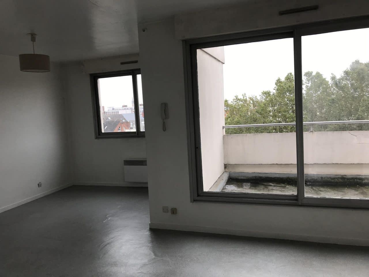 rénovation d'appartement locatif à Lille Saint-Maurice - avant travaux