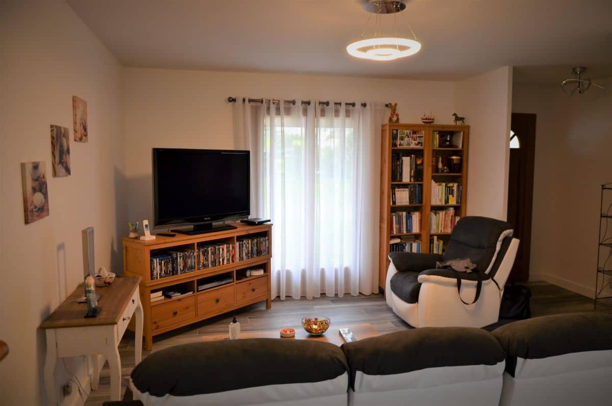 Rénovation partielle d'une maison à Monsteroux Milieu en Isère (38)