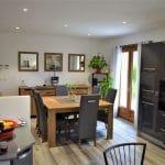 Peinture sol et plafond - Rénovation partielle d'une maison à Monsteroux Milieu en Isère