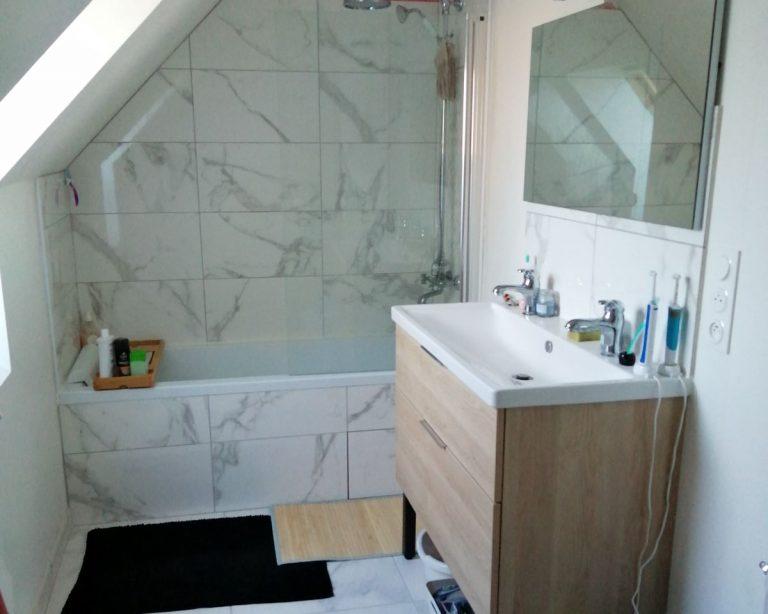 Rénovation d'une salle de bain à Chartres (28)