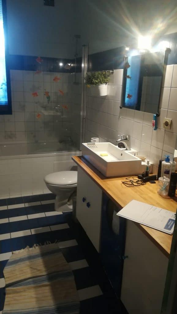 rénovation de salle de bain à Lille saint-Maurice - avant travaux