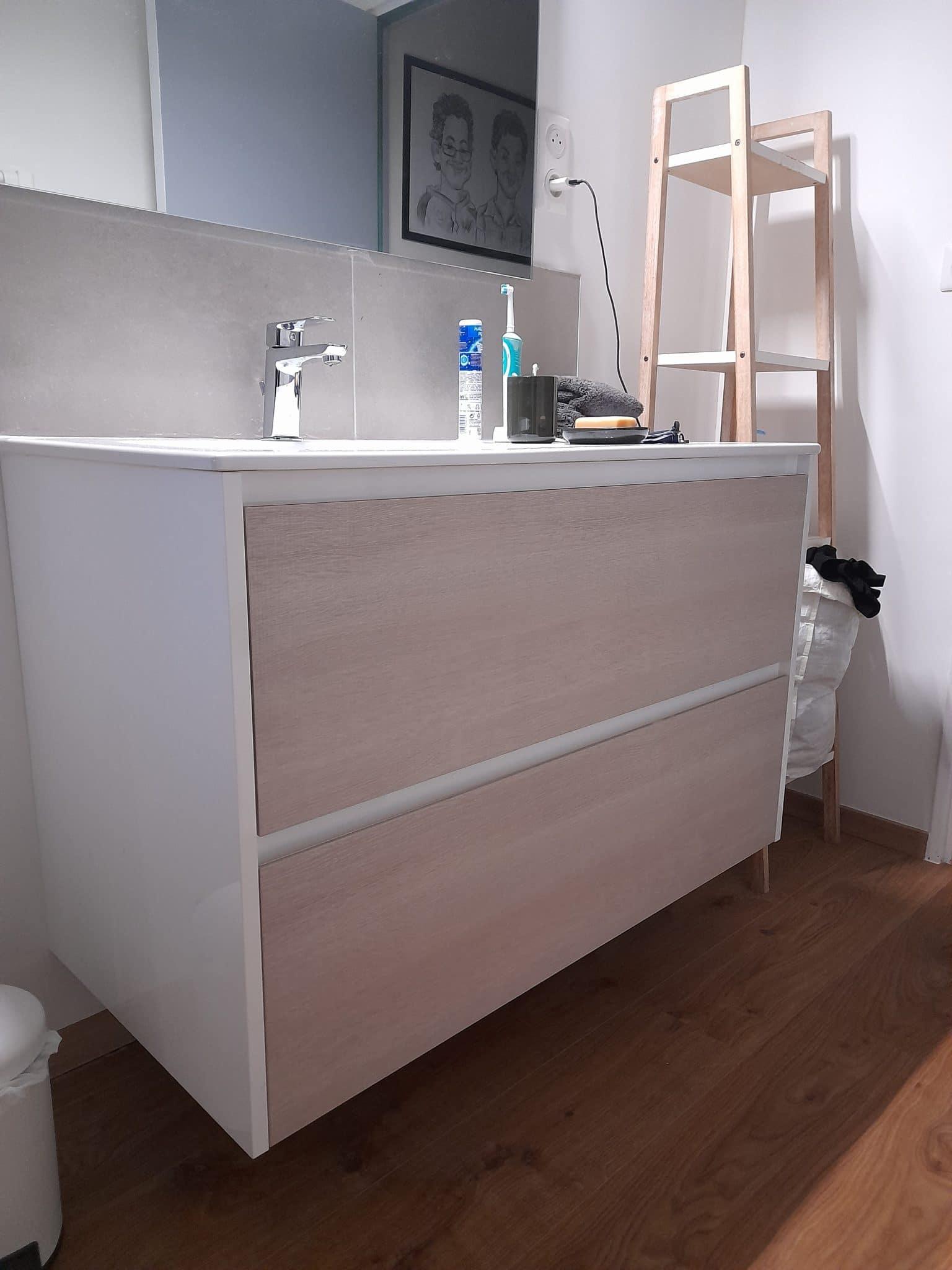 Rénovation d'une salle de bain à Lille Saint-Maurice (59)