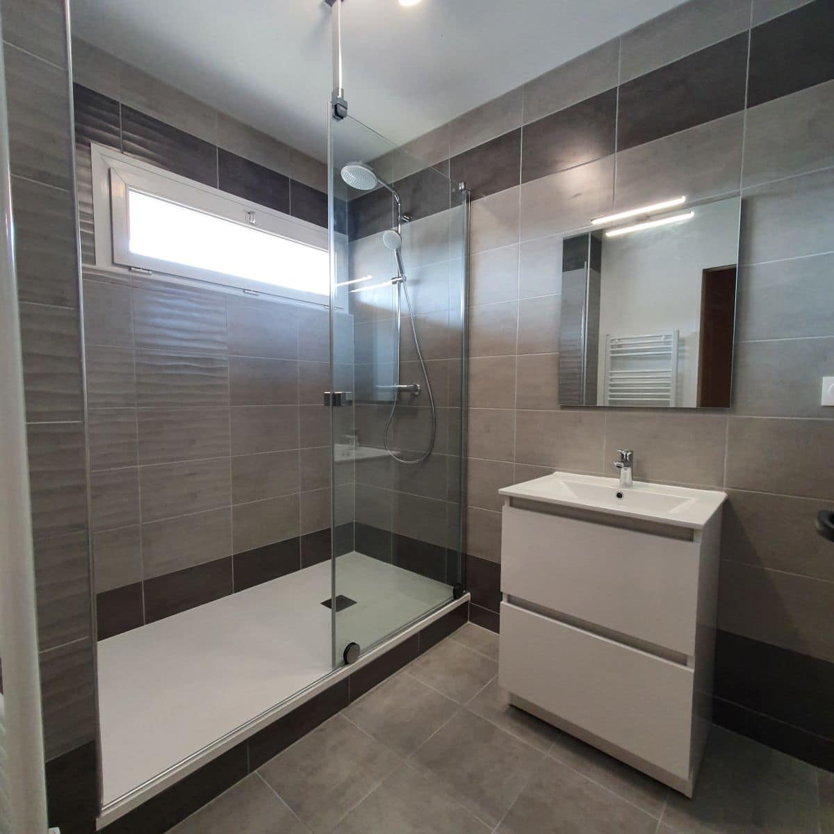 Rénovation d'une salle de bain à Bourges (18)