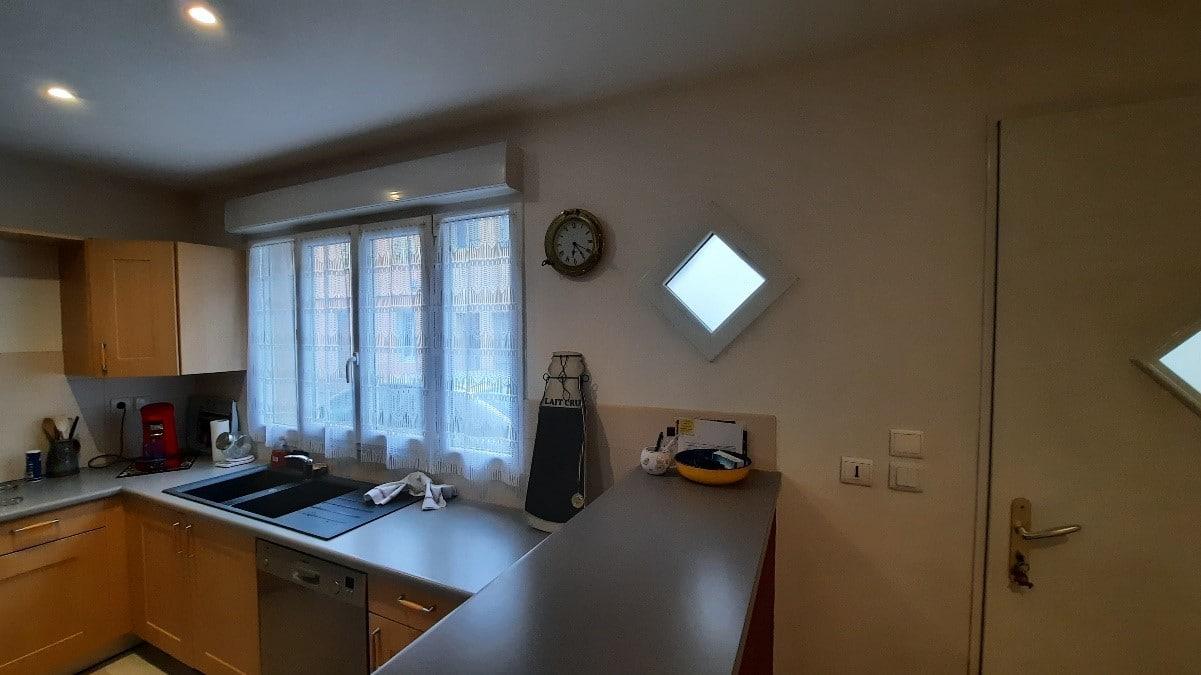 Rénovation d'un séjour cuisine à Saint-Laurent-sur-Saône (01)