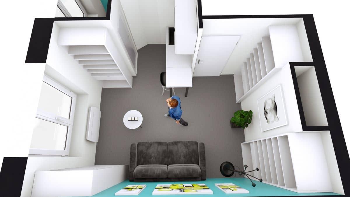 Rénovation complète d'un studio à Lille (59)