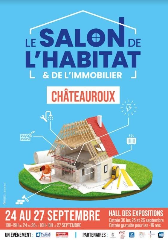 Salon de l'Habitat et de l'immobilier à Châteauroux avec la présence d'illiCO travaux
