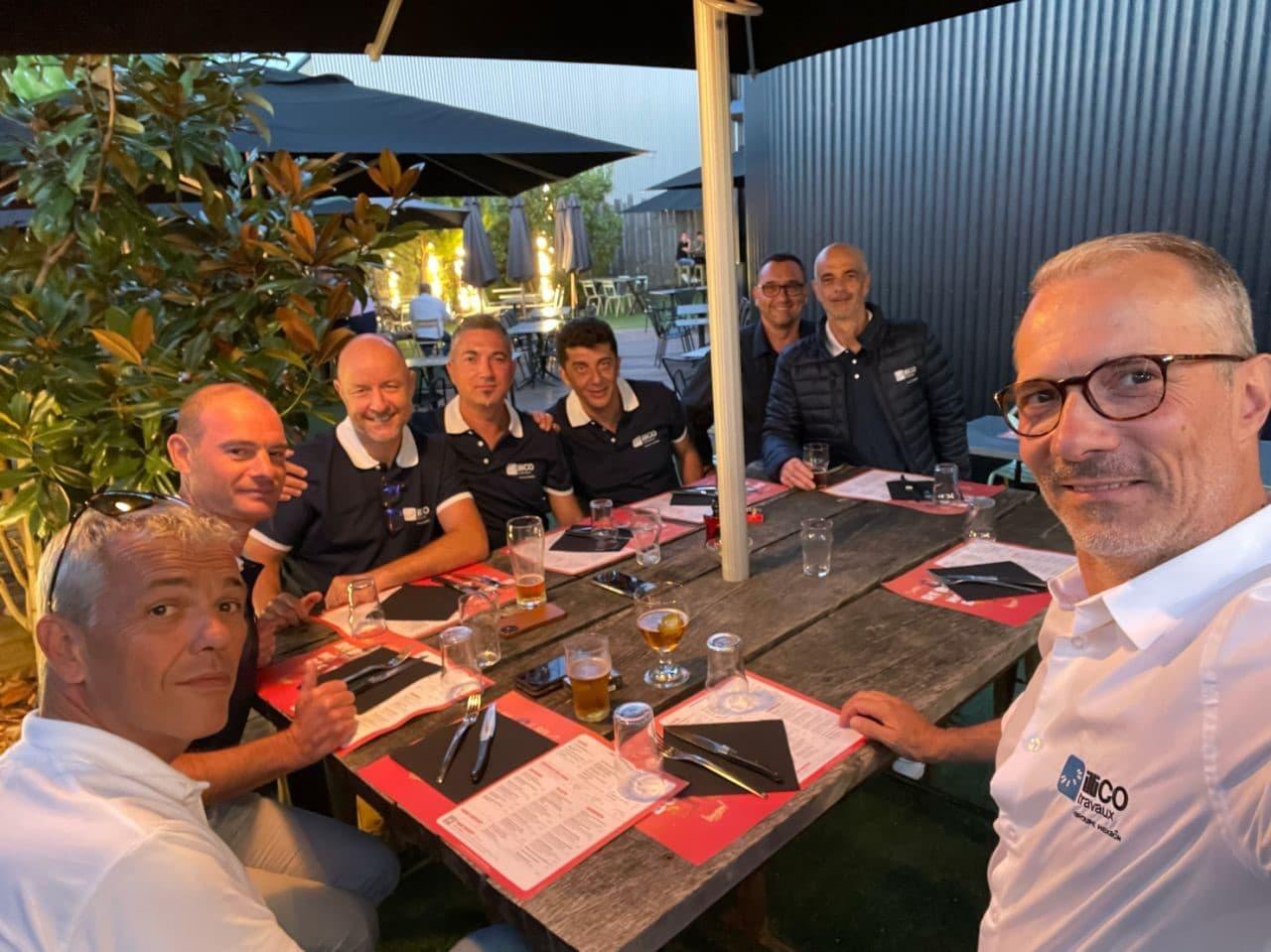 session formation initiale illiCO travaux - dîner