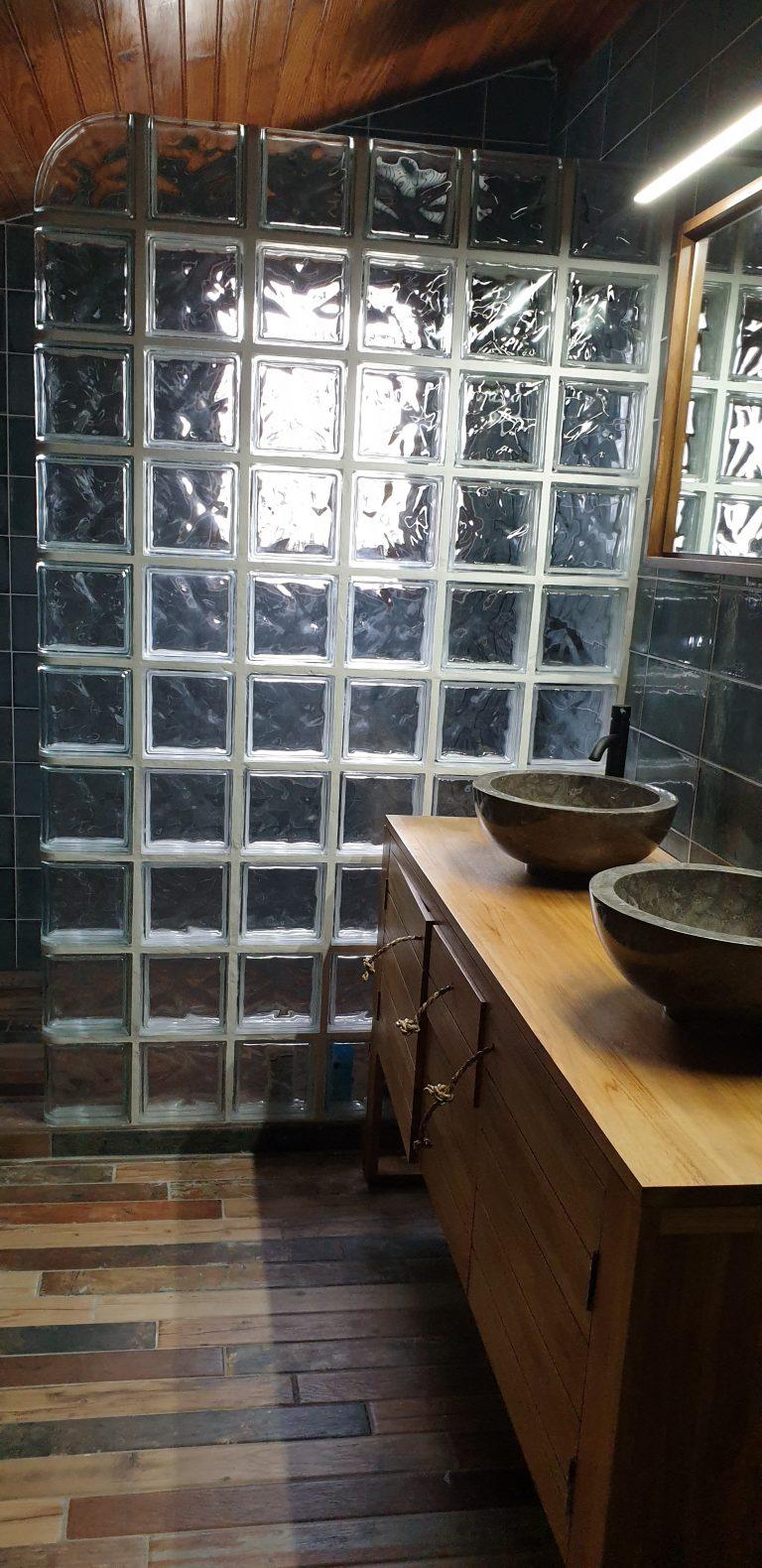 Rénovation d'une salle de bain à Hendaye (64)