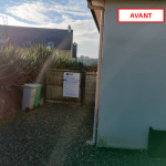 extension d'une maison à Plouarzel - avant travaux