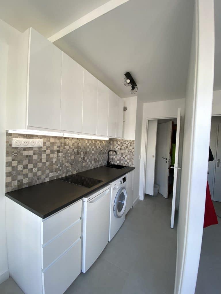 Rénovation d'un appartement dans le 20ème arrondissement de Paris (75)