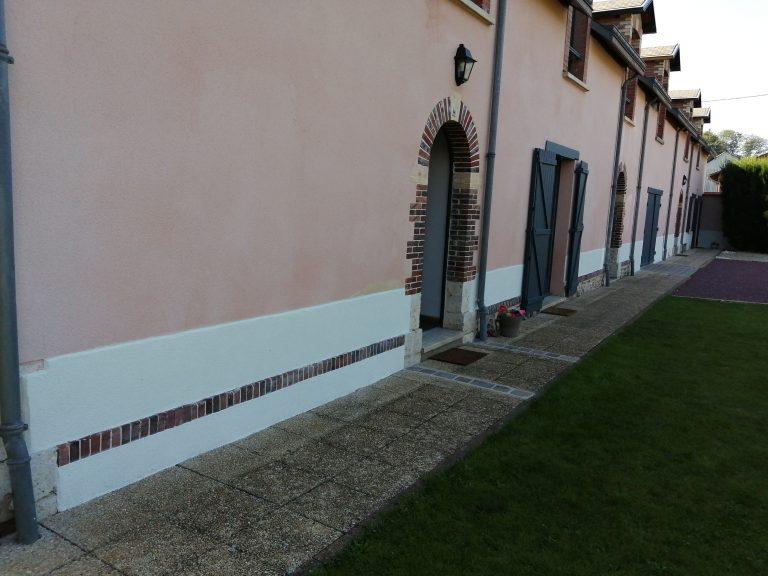 Rénovation extérieure d'une maison à Saint-Prest (28)