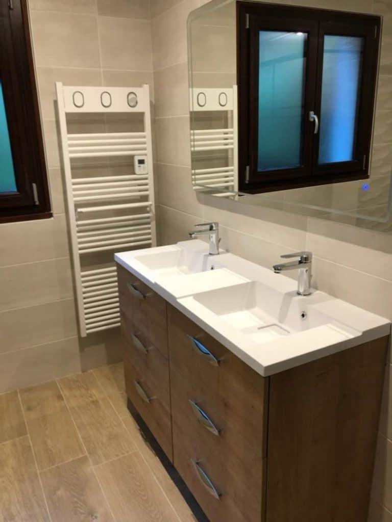 Rénovation d'une salle de bain à Saint-Joseph-de Rivière (38)
