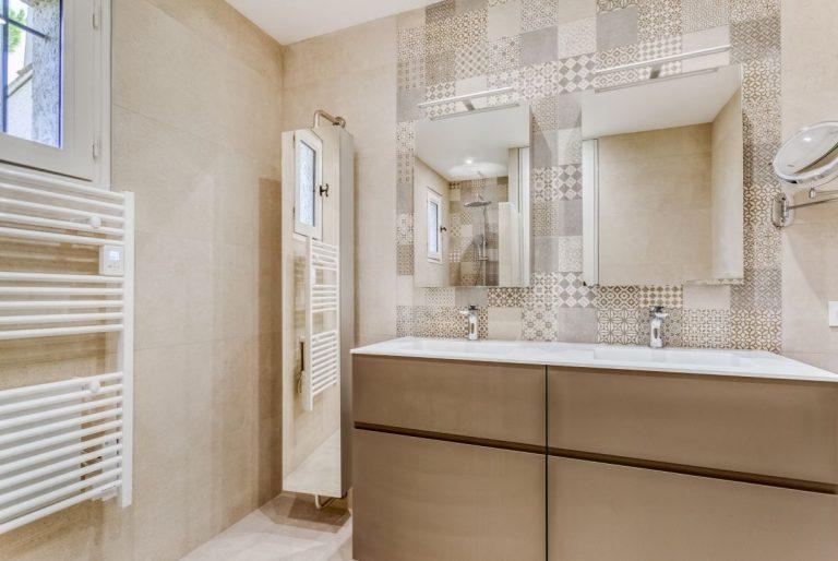 Rénovation complète d'une salle de bain aux Matelles, près de Montpellier (34)