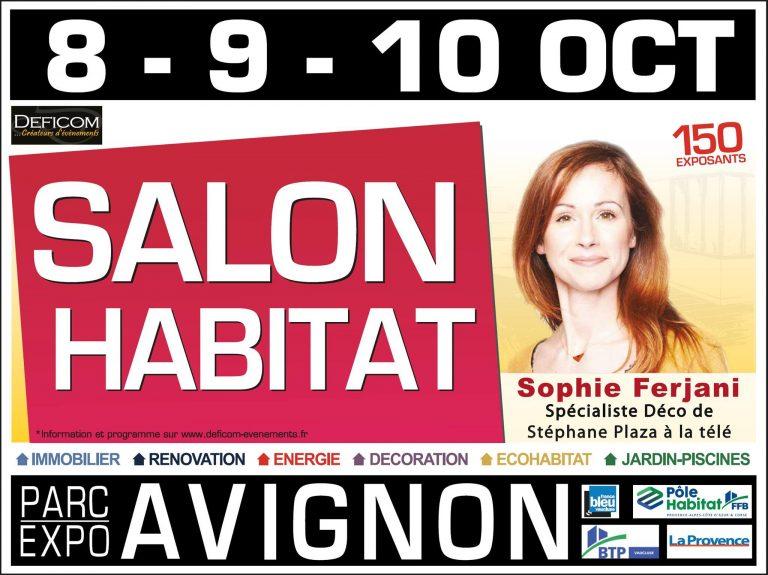 Salon de l'Habitat d'Avignon en présence d'illiCO travaux