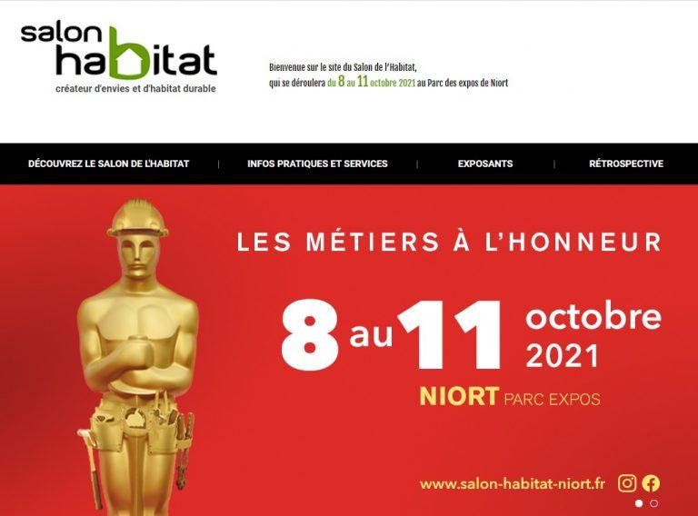 Salon de l'Habitat de Niort en présence d'illiCO travaux